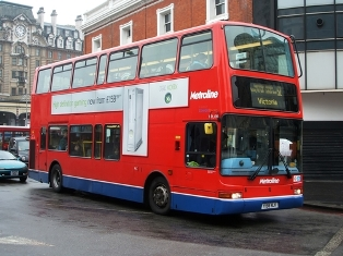Putney High Street is going to be a low emission bus zone from 2017