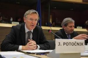 EU environment commissioner Janez Potočnik