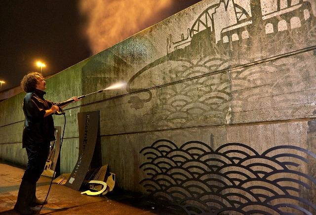 Nissan Mural Highlights London Car Pollution Air Quality