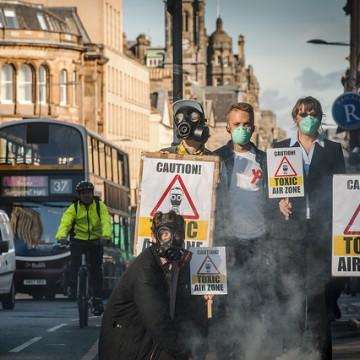 Edinburgh FoE protest (photo  (2)