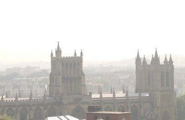 Bristol also saw poor air quality on 1 December (picture: paulgillisphoto.com)
